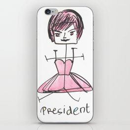 140812 Experiment Girl Power #3 iPhone Skin