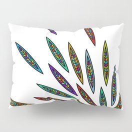 Exploding Feathers Pillow Sham