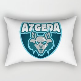 Azgeda Kru Shield Rectangular Pillow