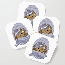 Ms. Hedgehog Coaster