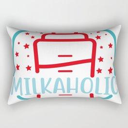 Milkaholic Rectangular Pillow