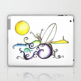 Carlos Clavero, CeCe longboard surfer  Laptop & iPad Skin