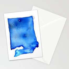 Washington State Starry Night Stationery Cards