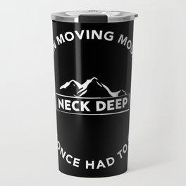 neck deep Travel Mug
