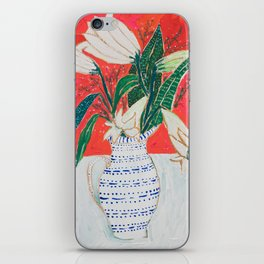 Easter Lily Bouquet iPhone Skin