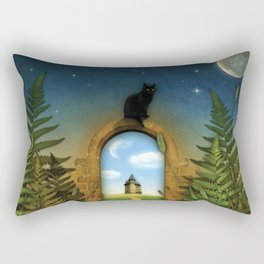 Moon Fairytale VI Rectangular Pillow
