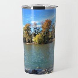 Autumn Bow Travel Mug