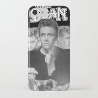 50s iPhone & iPod Cases featuring  Dean Poster (Circa mid 50s) by Chris' Landscape Images & Designs