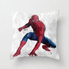 Spider man Throw Pillow