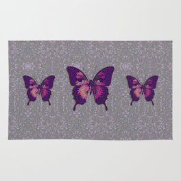 Butterfly Variation 01 Rug