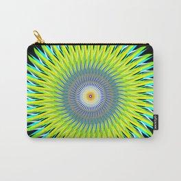 Green Machine Spiral Art Design Carry-All Pouch