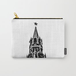 Kremlin Chimes-b&w Carry-All Pouch