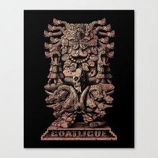 Coatlicue Canvas Print