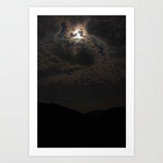 beautiful night. Art Print