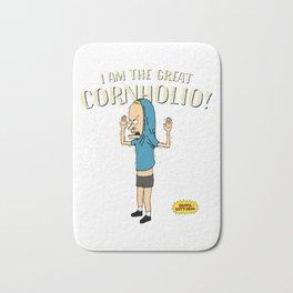 I Am The Great Cornholio, I Need T.P. Pikata For My Bunghole, Artwork, Tshirts, Men, Women, Youth Bath Mat