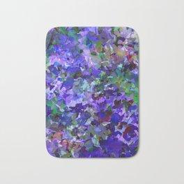 Deep Violet Woods Bath Mat