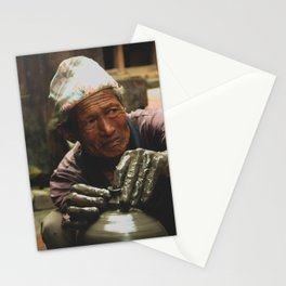 The Locals of Kathmandu City 002 Stationery Cards