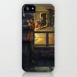 The City Watch - Red Riding Hood iPhone Case