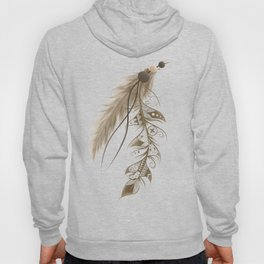 Bohemian Feather Hoody