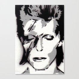 Ziggy Stencil Canvas Print