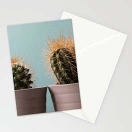 Three baby cactus Stationery Cards