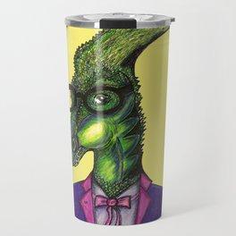 Hipster Dino Travel Mug