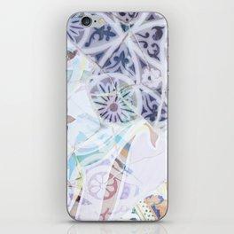 Mosaic of Barcelona IX iPhone Skin