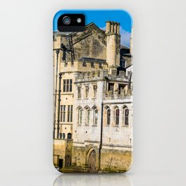 York City Guildhall in the spring sunshine. iPhone Case