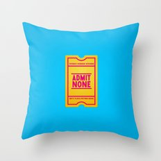Censorship Throw Pillow