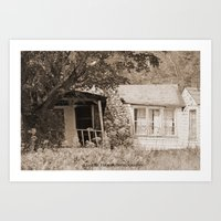 rustic Art Prints featuring Rustic by Becky Wilcox-Brann