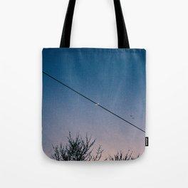 Slash Crescent Tote Bag