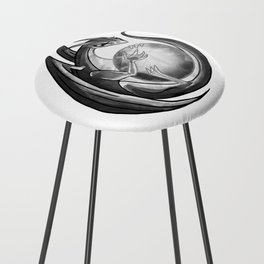 Scrying Dragon Counter Stool