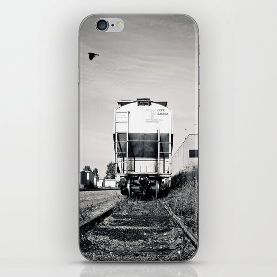 Train car waiting iPhone & iPod Skin