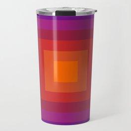 Freaky Deaky - abstract retro 70s style throwback outtasight art decor 1970s vibes Travel Mug