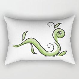 GreenWorm Rectangular Pillow