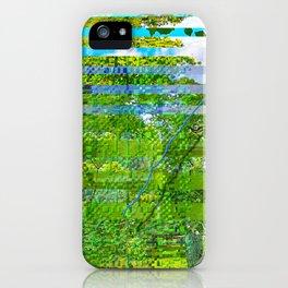 Landscape of My Heart (segment 1) iPhone Case