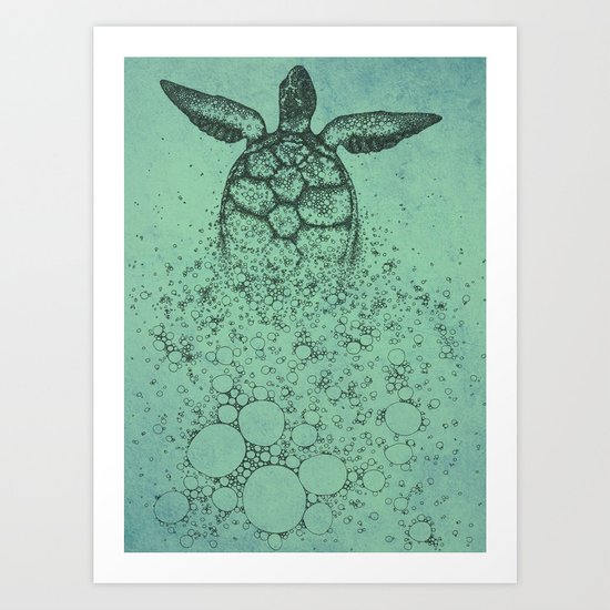 Into_The_Sea Art Print