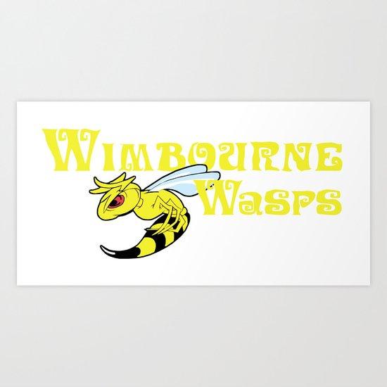 The Wimbourne Wasps Art Print