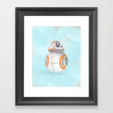 BB8 Framed Art Print