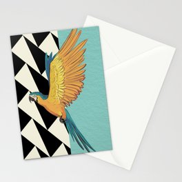 Parrot Pattern Stationery Cards