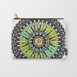 Multi-colored Mandala Carry-All Pouch
