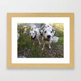Creek Diggers Framed Art Print