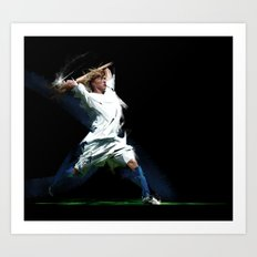Let's Play Soccer Art Print