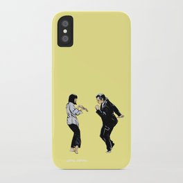 Pulp Fiction 'so dance good' iPhone Case