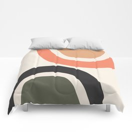 abstract minimal 22 Comforters