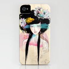 Nenufar Girl iPhone (4, 4s) Slim Case