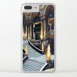 Magique Palais Garnier Clear iPhone Case