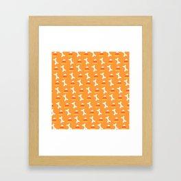 spoopy times Framed Art Print