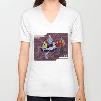 big bang V-neck T-shirts featuring BIG BANG by Alex Bayliss