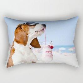 DoggyHour Rectangular Pillow